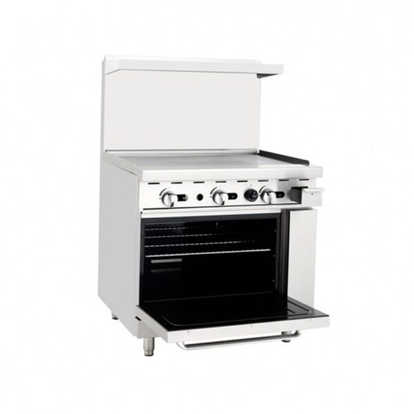 Atosa USA, Inc. AGR-36G, 36″ Gas Range with Griddle Top