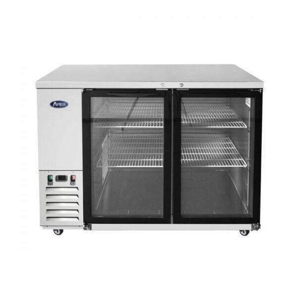 "Atosa USA, Inc. MBB48GGR – 48"" Glass Door Back Bar Cooler – S/S"