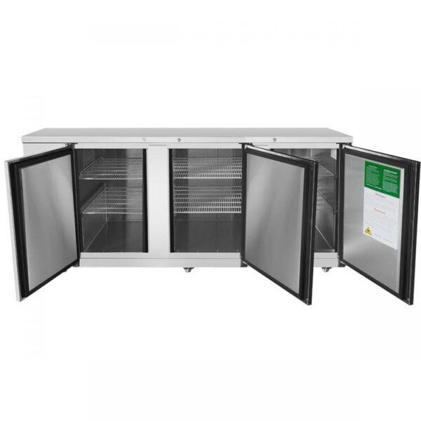 "Atosa USA, Inc. MBB90GR – 90"" Back Bar Cooler – S/S"