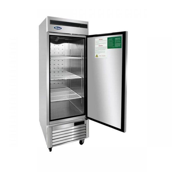 Atosa USA, Inc. MBF8501GRL – Left Hinge Bottom Mount 1 Single Door Reach-In Freezer Cooler