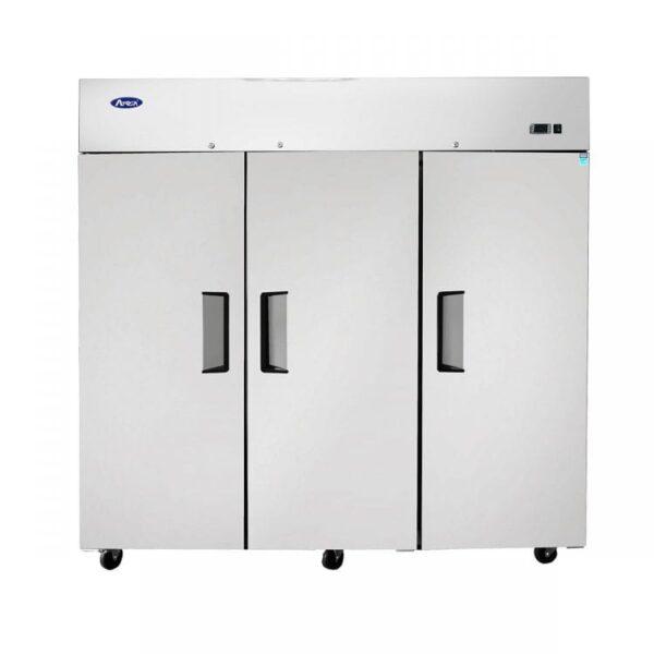 Atosa USA, Inc. MBF8003GR, Top Mount 3 Three Door Freezer Cooler