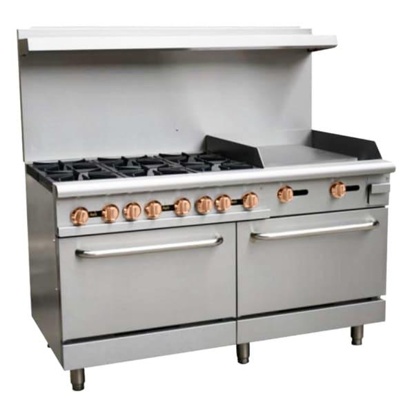 Copper Beech CBR-60-24G, 10 Open Burner 60″ Restaurant Gas Range