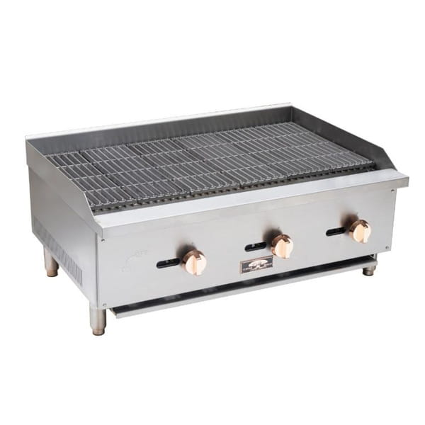 Copper Beech CBRB-16 16″ Wide Gas Radiant Broiler